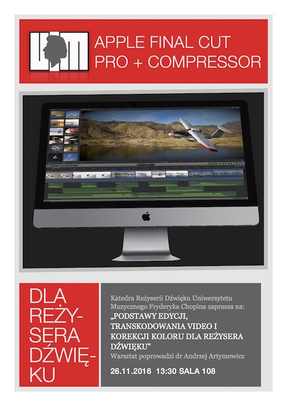 FCPX Compressor Warsztat